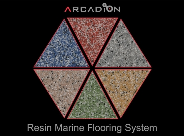 Marine epoxy resin flooring