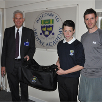 ARCADION supports pupil's golf and football tour to Malaga