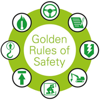 ARCADION welcome BP's 8 Golden Rules of Safety