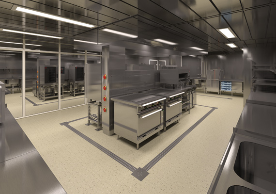 3D galley visualisation