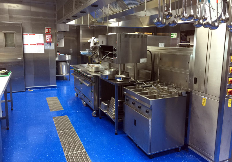 .... and we maintain & repair catering equipment