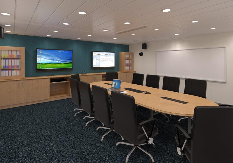 Glen Lyon Control Room 3D