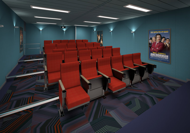 Glen Lyon Cinema Room 3D