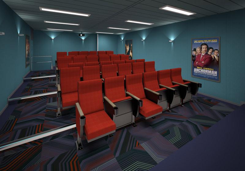 Glen Lyon Cinema Room 3D