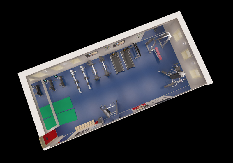 Glen Lyon Gym 3D