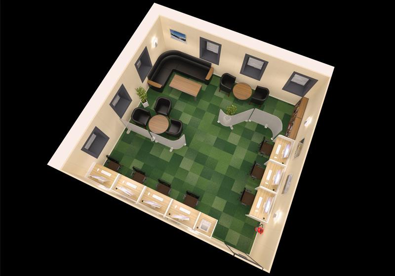 Glen Lyon Internet Room 3D