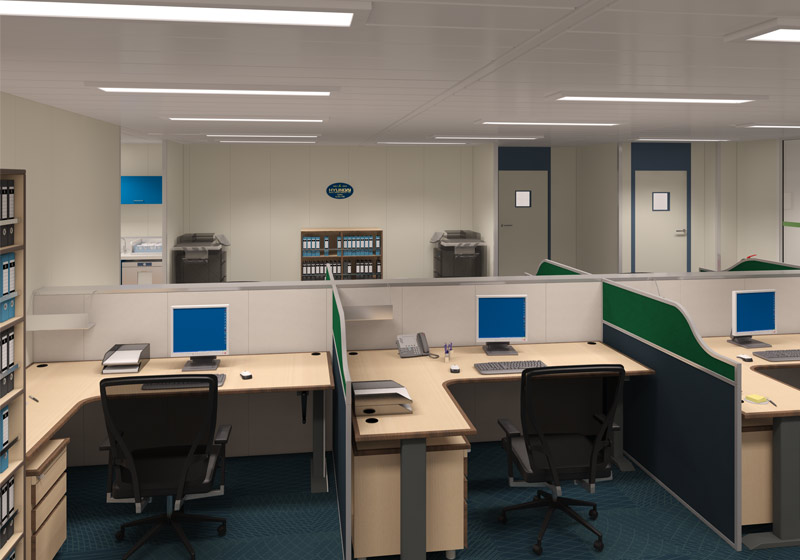 Glen Lyon Office 3D