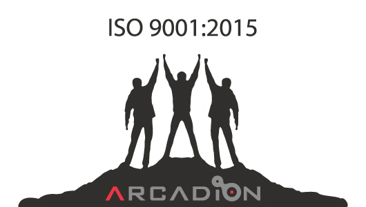 ARCADION are very pleased to announce our successful achievement of the ISO 9001:2015 standard covering all aspects of our services, operations and processes.